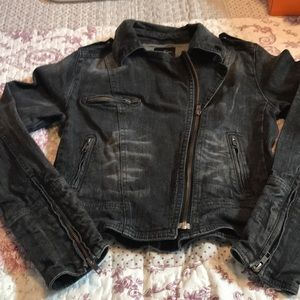 Jessica Simpson Moto Jean Jacket